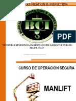 Operación Segura Manlift