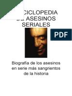 #Enciclopedia de Asesinos Seriales