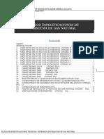 Especificaciones Tecnicas HOSPITAL MADRE OBRERA