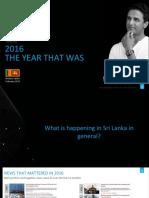 Nielsen Sri Lanka 2016 Review