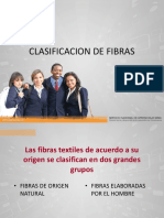 Clasificación de Fibras - Seminario Textil 1