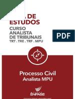 73414 Guia de Estudos Processo Civil MPU