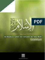 Cuarenta hadices sobre las virtudes de Abu Bakr el Veraz