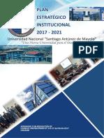 Plan Estrategico 2017 - 2021 UNASAM