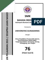 Bahasa Indonesia Kode b 76