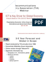 TIA ICT International Report Webinar 20100428 Final
