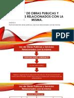 3.1 Ley de Obras Publicas y Servicios Relacionados Con La Misma.
