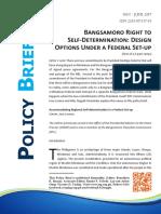 Bangsamoro Right to Self-Determination