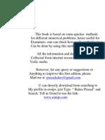 Prasad's Quicker Math-Vol 1 (1)