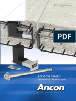 Ancon Lockable Dowel
