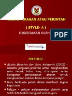 Kaedah Arahan Slide