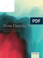 Finite Elasticity Theory - DAVID J. STEIGMANN