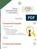 Modulo II - Curso 1 - Unidad 3 - Congreso Organización y Funciones