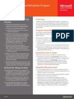 Registered Refurbisher Program Fact Sheet FY14Q3