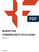 Bishop Fox Cybersecurity Style Guide v1