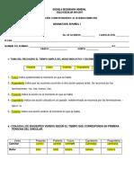Examen II Bim Español 1