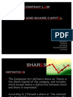 Share Capital Presentation