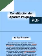 Constitución Del Aparato Psíquico (Sigmund Freud)