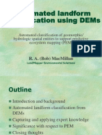 Automated Landform Classification
