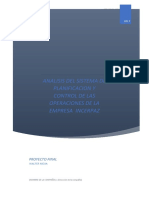 INCERPAZ PLANIFICACIÓN Y CONTROL 1