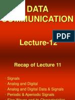 data communication - cs601 power point slides lecture 12  1
