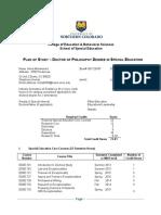plan of phd study form