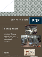 Dairy Products Plant Presentation
