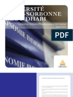 Brochure économie
