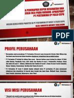 ANALISA PENERAPAN ASPEK KESELAMATAN KESEHATAN KERJA (K3) PADA WAREHOUSE
