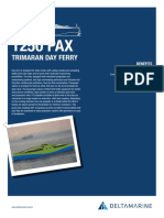 Passenger Trimarandayferry 1250PAX