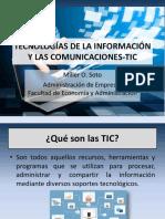 Tecnologías de la Información y las Comunicaciones-TIC