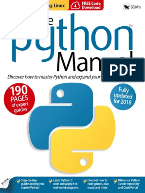 The Python Manual | Command Line Interface | Python (Programming