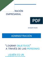 Administracion y Empresa