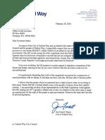 Letter from Mayor Jim Ferrell