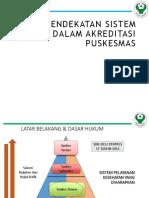 Struktur Puskesmas Dalam Akreditasi