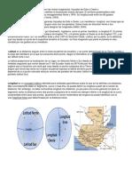 Latitud y Longitud de Guatemala