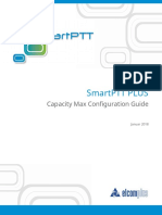 SmartPTT PLUS Capacity Max Configuration Guide