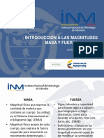 Presentacion Introduccion a Las Magnitudes Masa y Fuerza