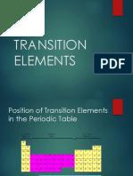 Transition Metals 1