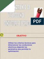 Dimensionamiento Conductores electrices