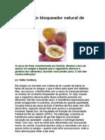 Maracujá Bloqueador natural de gordura - nutrientes - fibras - glicemia - metabolismo