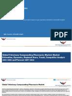 Global Veterinary Compounding Pharmacies Market