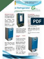 Biomedical Refrigerator