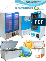 Blood Bank Refrigerator Touch Screen