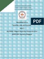 """ADA 5 """"Dentro una red social"""""""