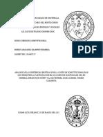 Analisis Sentencias de La Corte