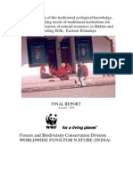 Traditional Ecological Knowledge_Sikkim & Darjeeling_WWF