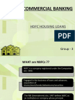 Commercial Banking-hdfc Housing Finance