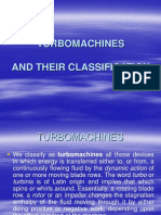 Turbomachanies & Classification