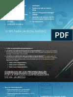 10 Tips Para Un Blog Exitoso